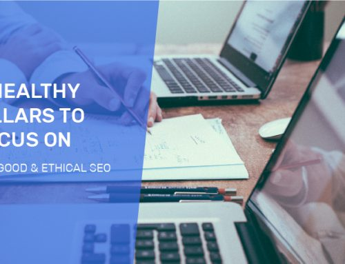 What should a good & ethical SEO strategy address?